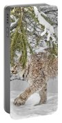 Snow Fall Portable Battery Charger