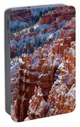 Snow In Bryce Canyon Portable Battery Charger