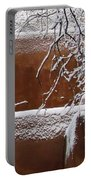Snow In Santa Fe New Mexico Portable Battery Charger