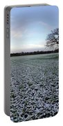 Snow In Surrey Countryside Portable Battery Charger
