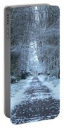 Snow In The Avenue Portable Battery Charger
