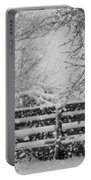Snow In The Country Portable Battery Charger