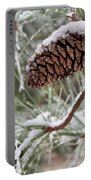 Snow In The Pines Portable Battery Charger