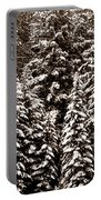 Snow-laden Forest Portable Battery Charger