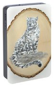 Snow Leopard - Renewed Perception Portable Battery Charger