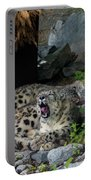 Snow Leopards Portable Battery Charger