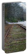 Snow On Rails Portable Battery Charger