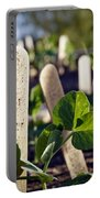 Snow Peas Please Portable Battery Charger