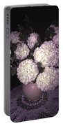 Snowball Bouquet Portable Battery Charger