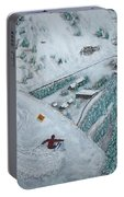 Snowbird Steeps Portable Battery Charger by Michael Cuozzo