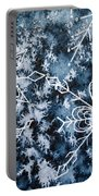 Snowflake Greetings Portable Battery Charger