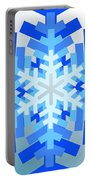 Snowflake Pile Portable Battery Charger