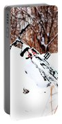 Snowing On The Bicycle Portable Battery Charger