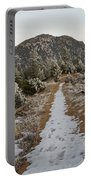 Snowy Colorado Trail Portable Battery Charger