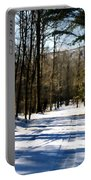 Snowy Drive Portable Battery Charger