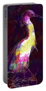 Snowy Egret Waterfowl Bird Large  Portable Battery Charger