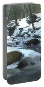 Snowy Falls Portable Battery Charger