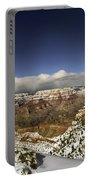 Snowy Grand Canyon Portable Battery Charger