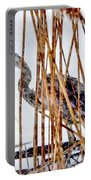 Snowy Heron? Portable Battery Charger