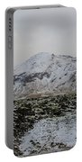 Snowy Lava Fields Iceland Portable Battery Charger