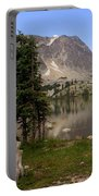 Snowy Mountain Loop 1 Portable Battery Charger