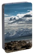 Snowy Mountains Portable Battery Charger