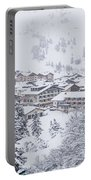 Snowy Resorts Portable Battery Charger