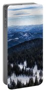Snowy Ridges - Impressions Of Mountains Portable Battery Charger