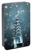 Snowy Spires Portable Battery Charger