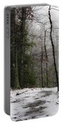 Snowy Trail Quantico National Cemetery Portable Battery Charger