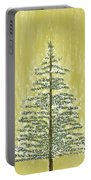 Snowy Tree Portable Battery Charger