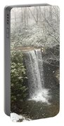 Snowy Waterfall Portable Battery Charger