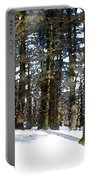 Snowy Wilderness Portable Battery Charger