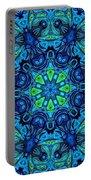 So Blue - 04v2 - Mandala Portable Battery Charger