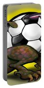 Soccer Saurus Rex Portable Battery Charger