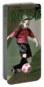 Soccer Style Portable Battery Charger