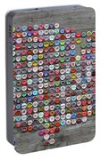 Soda Pop Bottle Cap Map Of The United States Of America Portable Battery Charger