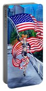 Sofia Metal Queen. Born 4th Of July Portable Battery Charger