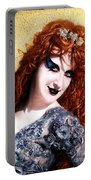Sofia Metal Queen. Fashion Portrait Portable Battery Charger