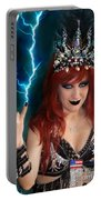 Sofia Metal Queen. Metal Is Lifestyle Portable Battery Charger