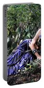Sofia Of Ameynra. Cybergoth Belly Dancer Portable Battery Charger