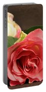 Soft Antique Rose Portable Battery Charger