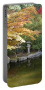 Soft Autumn Pond Portable Battery Charger