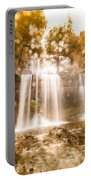 Soft Dream Like Waterfall Portable Battery Charger