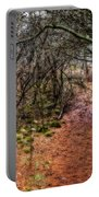 Soft Light In The Woods Portable Battery Charger