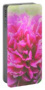 Soft Peony Portable Battery Charger