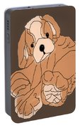 Soft Puppy Portable Battery Charger