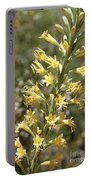 Soft Yellow Desert Flowers Portable Battery Charger