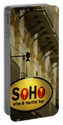 Soho Wine Bar Portable Battery Charger