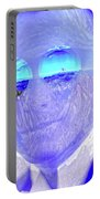 Solar Flare In My Eyes Portable Battery Charger